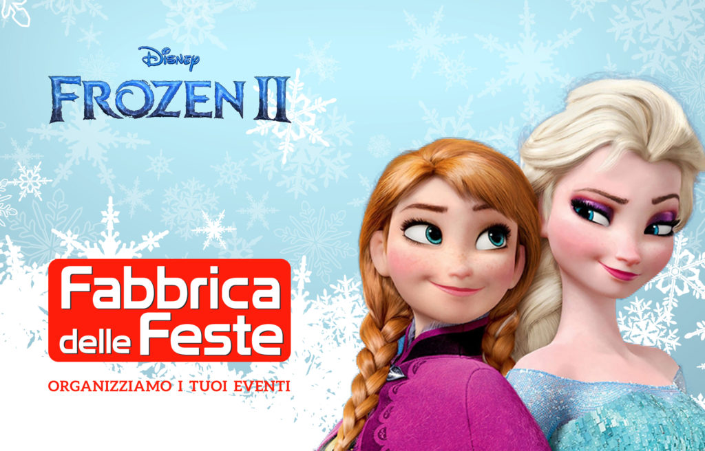 Pigiama party a tema Frozen 2